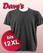 T-Shirts bis 12XL