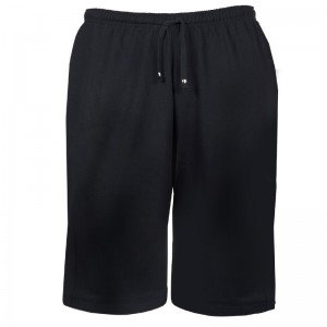 XXL Basic Joggingbermuda schwarz Redfield