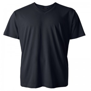 Georg XXL T-Shirt schwarz V-Neck Redfield