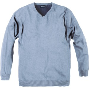 XXL V-Strickpullover hellblau North 56°4 by Allsize