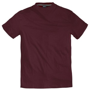 XXL North 56°4 by Allsize Basic T-Shirt bordeaux