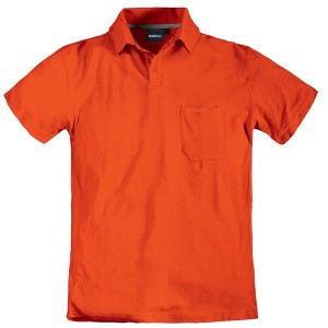 North 56°4 by Allsize Poloshirt orange Übergröße