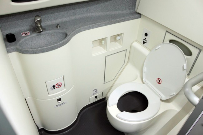 Board-Toilette Flieger
